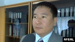Kyrgyzstan -- Ulan Melisbek, Head of Kyrgyzpatent agency, undated