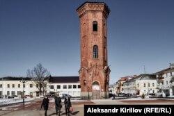Водонапорная башня на Соборной площади