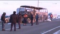 Özbegistan we Gazagystan ot alan awtobus boýunça derňew işini gozgady