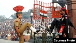 د هند او پاکستان ترمنځ د واهګا پوله