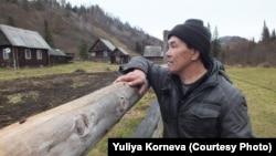 Сібірдегі саны аз шор халқының өкілі Федор Кадымаев.