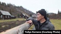 Коренной шорец Федор Кадымаев.