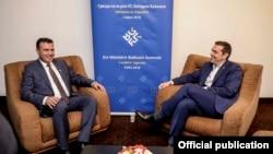 Софија- Премиерите на Македонија и на Грција, Зоран Заев и Алексис Ципрас на втора средба, 17.05.2018
