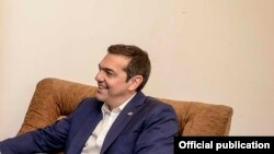 Алексис Ципрас - премиер на Грција