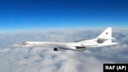 Bombardier rusesc strategic Blackjack Tu-160, imagine de arhivă