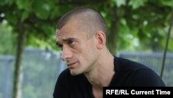 Российский художник-акционист Петр Павленский.