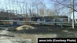 Столица Амурской области Благовещенск