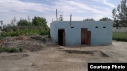 Uzbekistan - toilet of school number 35 in Narpay district of Samarkand region, 11 May 2013