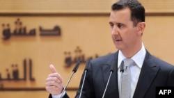 Embattled Syrian President Bashar al-Assad