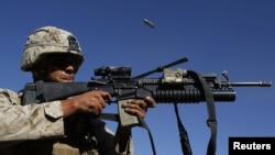 The attack involved Afghan and foreign troops (file photo)