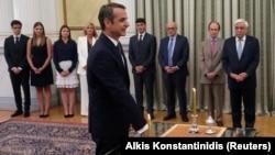 Кіріакос Міцотакіс складає присягу голови уряду Греції, Атени, 8 липня 2019 року