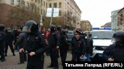 Поліція у Красноярську затримала понад 150 людей