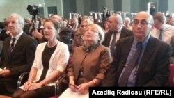Leyla Yunus Almaniyada İnsan haqları mükafatının təqdim olunması mərasimində