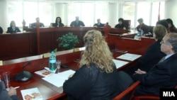 Засідання Конституційного суду Македонії