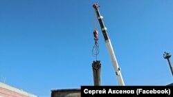 Труби для з'єднання Тайганського водосховища з системою водопостачання Сімферополя