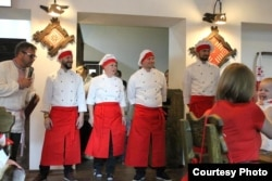 Каманда беларускіх кухараў