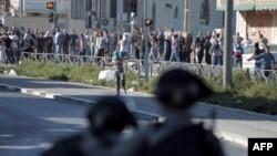 Столкновения в Иерусалиме в связи с убийством палестинского подростка, 2 июля 2014