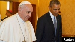 Папа Франциск і Барак Обама
