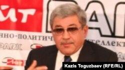 Гани Касымов, бывший лидер провластной Партии патриотов.