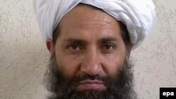 The leader of the Afghan Taliban, Haibatullah Akhundzada