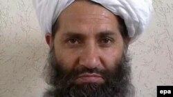 د طالبانو اوسنی مشر ملا هبت الله اخندزاده.