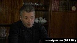 Արմենակ Կյուրեղյանը զրուցում է «Ազատության» թղթակցի հետ: 20-ը հունվարի, 2016 թ․
