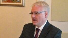 Croatian President Ivo Josipovic