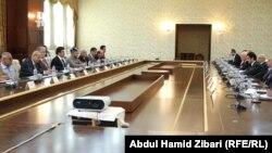 اجتماع نيجيرفان بارزاني مع ممثلي الاحزاب الكردية
