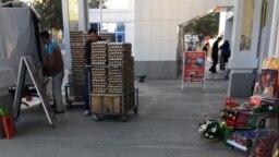 Рынок в Ашхабаде, 2018