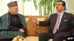 Прем'єр-міністр Пакистану Юсаф Раза Ґілані і президент Афганістану Хамід Карзай