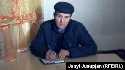 Жергеталдык жазуучу Аким Кожоев.