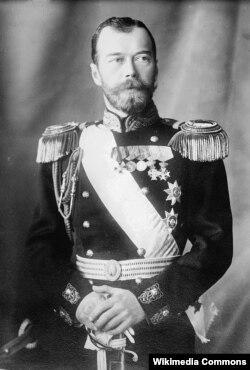 Мікалай ІІ, расейскі імпэратар у 1894-1917 гг.