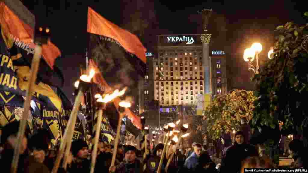 Марш цивільного корпусу «Азов»