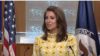U.S. state department spokeswoman Morgan Ortagus