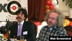 На фото Алексей Венедиктов и его первый заместитель Сергей Бунтман