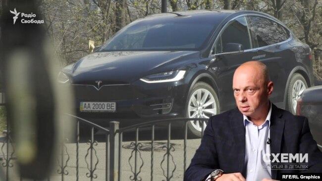 «Схеми» зафіксували, що як і за його попередника до міністерства приїхали автівки тих же бізнесменів з фармацевтичного ринку: Олександра Чумака