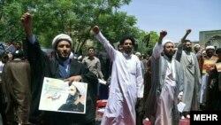 ირანელი სასულიერო პირები აპროტესტებენ ნიმრ ალ-ნიმრის სიკვდილით დასჯას საუდის არაბეთში
