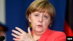 German Chancellor Angela Merkel says trust has been lost. (file photo)