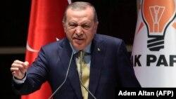 Турскиот претседател Реџеп Таип Ердоган