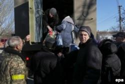 """Бойцы батальона """"Азов"""" в районе села Широкино под Мариуполем"""