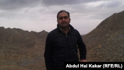 Abdul Hai Kakar in the wilds of his native Balochistan.