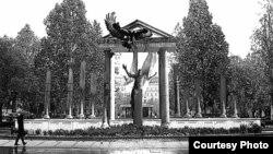 Эскиз монумента жертвам нацистской оккупации в Будапеште
