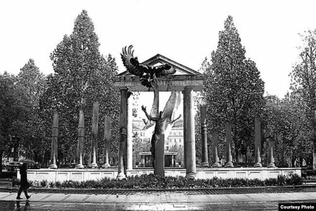 Памятник в Будапеште, посвященный событиям 1944 года