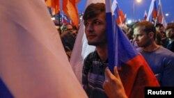 Ռուսաստան - Հանրահավաքը Մոսկվայի Մարինո արվարձանում, 20-ը սեպտեմբերի, 2015թ․