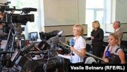 Conferință de presă la CEC