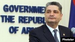Премьер-министр Армении Тигран Саргсян