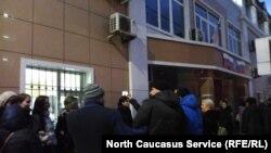Свидетели Иеговы в Махачкале перед Советским районным судом