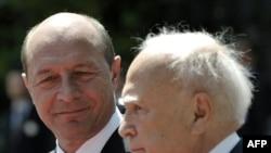 Carolos Papoulias si Traian Basescu