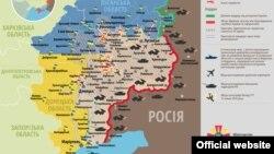 Ситуація в зоні бойових дій на Донбасі, 16 лютого 2015 року