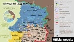 Ситуація у зоні бойових дій на Донбасі, 16 лютого 2015 року